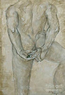 He's The One  Art Print by Delona Seserman