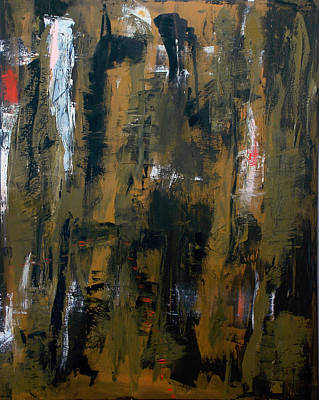 New Orleans Oil Painting - Hesitation Marks by Mike Broussard