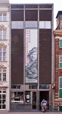 Photograph - Het Rembranthuis Amsterdam by Jouko Lehto