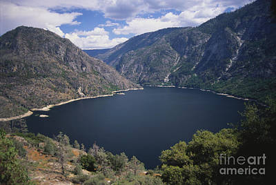 Photograph - Hetch Hetchy Reservoir by Mark Newman