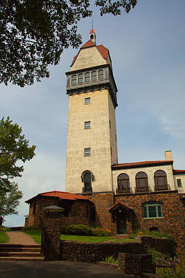 Connecticut Landscape Photograph - Heublein Tower by Karol Livote