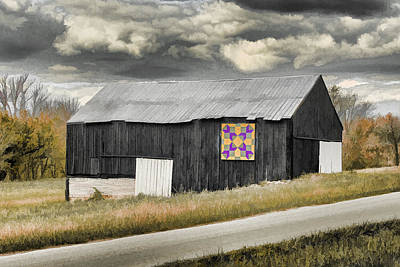 Photograph - Hex Barn by Jack R Perry