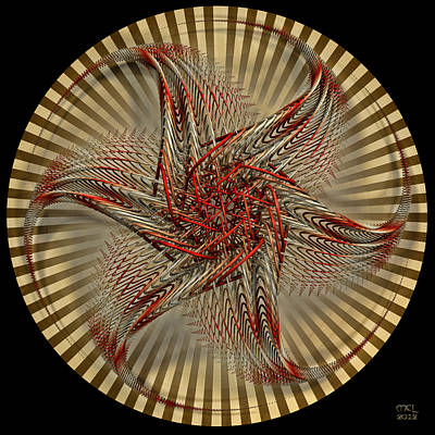 Hexagramma Art Print
