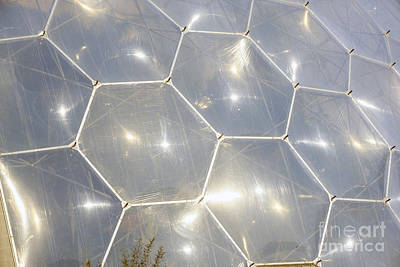 hexigon domes at Eden Project Original