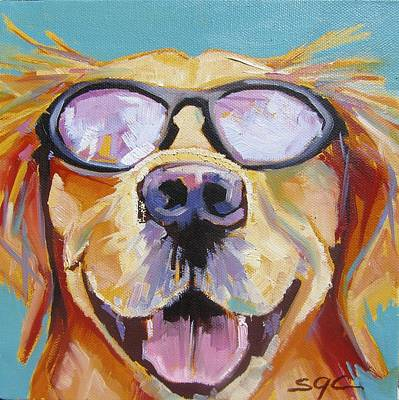 Painting - Hey Dude by Sarah Gayle Carter