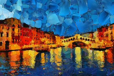 Hey Venice Art Print