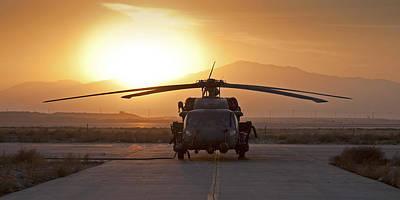 Hh-60 Pavehawk Print by Tim Grams