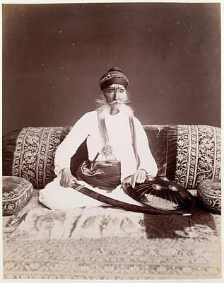 H.h. The Maharajah Of Bhoondi Art Print by British Library