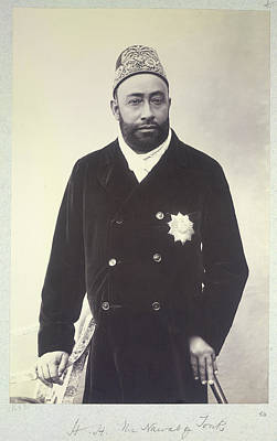His Excellency Photograph - Hh The Nawab Of Tonk by British Library
