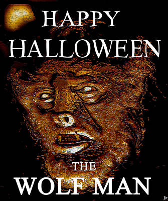 Hh Wolfman Classic Style Art Print by David Lee Thompson