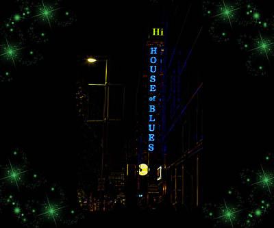 Photograph - Hi House Of Blues by Judy Vincent