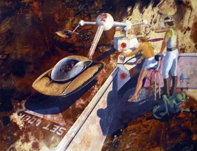 Painting - Hi-tech Future by Jack Adams