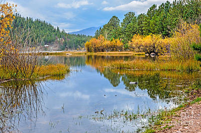 Fort Collins Photograph - Hiawatha Lake  by Baywest Imaging