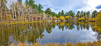 Fort Collins Photograph - Hiawatha Lake Panorama by Baywest Imaging