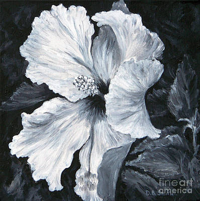 Painting - Hibiscus 1 by Deborah Smith