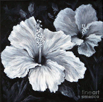 Painting - Hibiscus 2 by Deborah Smith