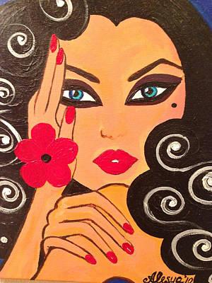 Hibiscus Original by Alesya Cabral