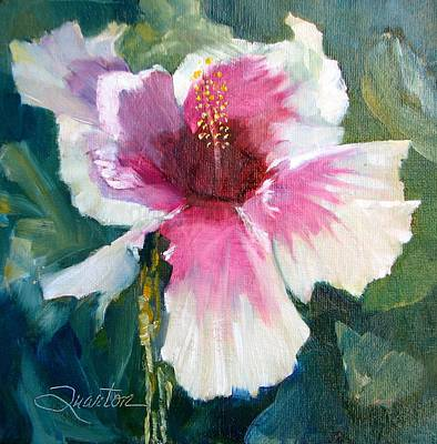 Painting - Hibiscus by Lori Quarton