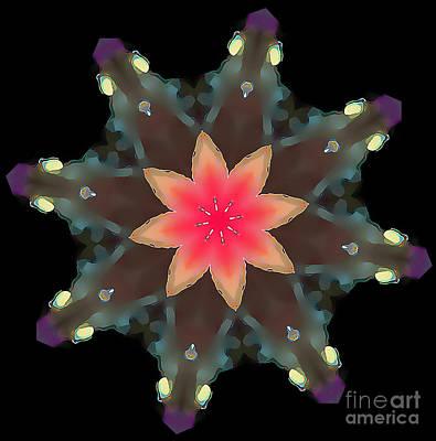 Hibiscus Mandala Art Print