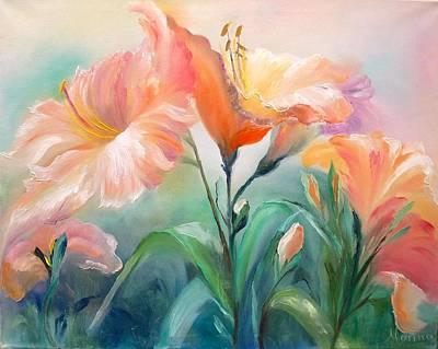 Hibiscus Art Print by Marina Wirtz