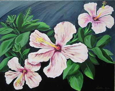 Painting - Hibiscus No. 1 by J Linder