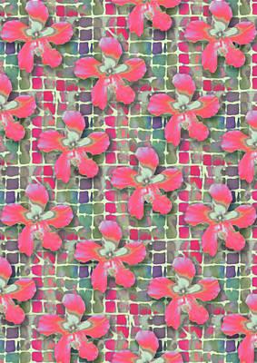 Hibiscus Pink Water Art Print