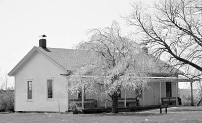 Hickory Grove Meeting House Art Print by Corrie Blackshear