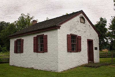 Photograph - Hickory Grove Schoolhouse. by Michael Porchik