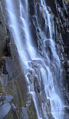 Hickory Nut Falls Waterfall Nc Art Print by Dustin K Ryan