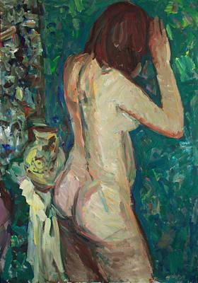 Painting - Hid Herself by Juliya Zhukova