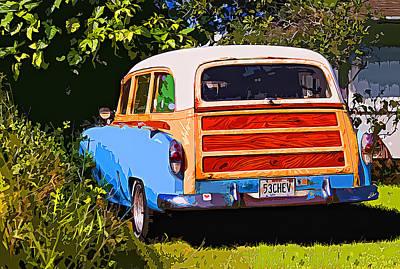 Classic Woodie Digital Art - Hidden 53 by Ron Regalado