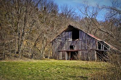 Photograph - Hidden Barn by Cricket Hackmann