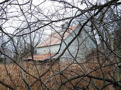 Photograph - Hidden Barn by The GYPSY