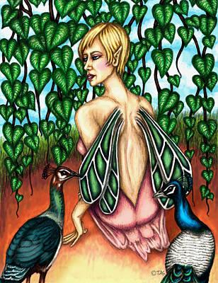 Hidden Beauty Art Print by Tricia Shanabruch