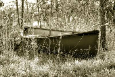 Photograph - Hidden Boat by Kathy Williams-Walkup