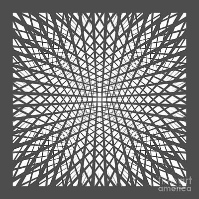 Hidden Circle In Grey Original