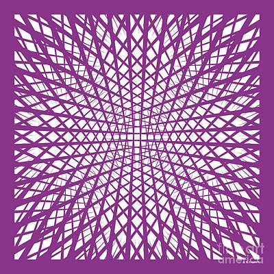 Hidden Circle In Purple Original