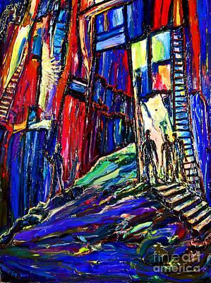 New York City Painting - Hidden Doorway by Arthur Robins