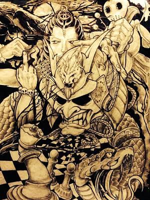 Hidden Emotions Art Print by Odam Chan