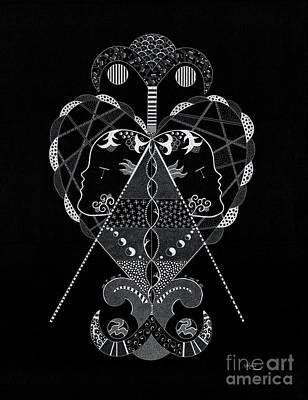 Hidden Erzuli Art Print