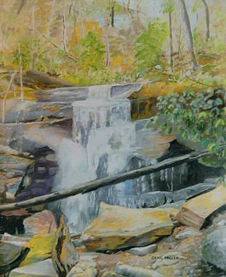 Painting - Hidden Falls by Carol L Miller