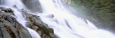 Cascade Canyon Photograph - Hidden Falls, Cascade Canyon, Grand by Panoramic Images