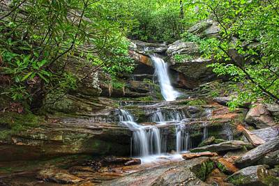 Photograph - Hidden Falls by Chris Berrier
