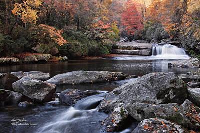 Photograph - Hidden Falls In Western North Carolina by Shari Jardina