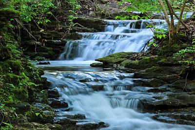 Photograph - Hidden Falls by Julie Andel