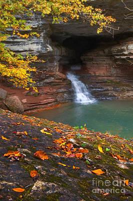 Photograph - Hidden Falls by Ryan Heffron