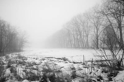 Photograph - Hidden In The Fog by Robert Clifford