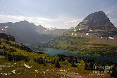 Photograph - Hidden Lake - Glacier by Cindy Murphy - NightVisions