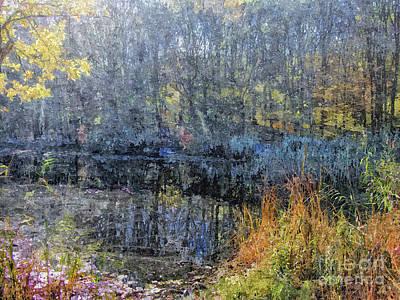 Beautiful Painting - Hidden Lake  by GabeZ Art