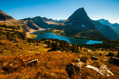 Photograph - Hidden Lake Glacier National Park by Brenda Jacobs